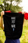 Jazz - Make jazz not war - Torba na ramie