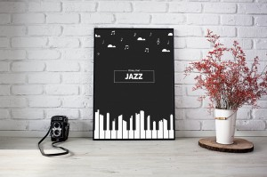 All that jazz - Piano - Plakat
