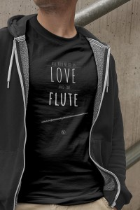 Flet - All you need is flute - Koszulka