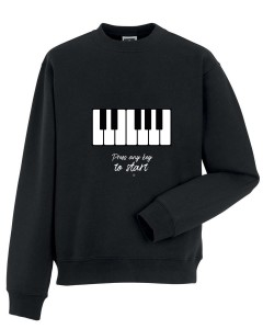 Fortepian - Piano - Press any key - Bluza