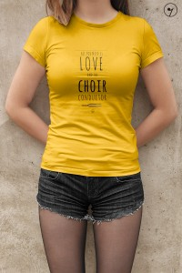 All you need is love and choir conductor - Koszulka - Dyrygent